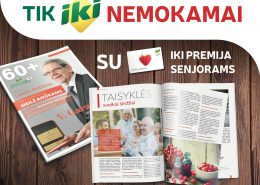 žurnalas senjorams 60+ IKI