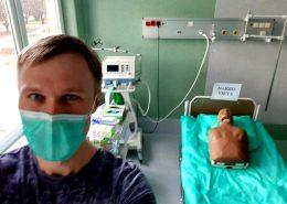 Ukmergės ligoninės chirurgas Nikas Samuolis