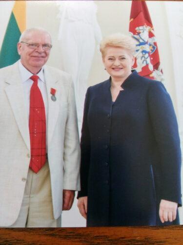 vyras su prezidente