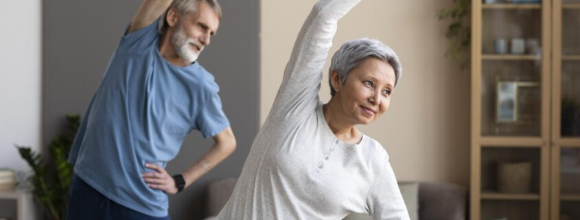 senior-couple-training-together